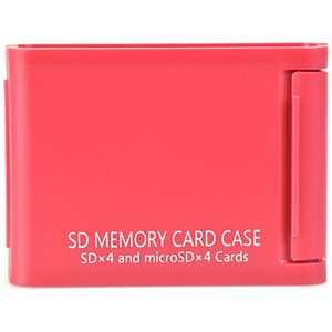 ケンコー SDメモリーカードケースAS 4枚収納 レッド ASSD4RE