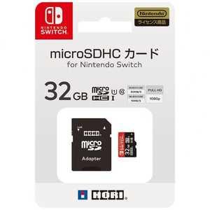 HORI マイクロSDカード 32GB for Nintendo Switch NSW-043 マイクロSD32GBFORスイッチ