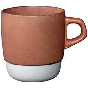 KINTO SLOW COFFEE STYLE スタックマグ オレンジ オレンジ SCS27658