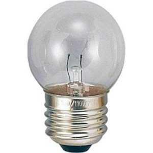 ヤザワ 電球 ベビーボール球 クリア[E26/電球色/1個/ボール電球形] G402607C