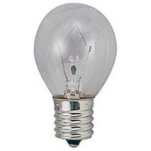 ヤザワ 電球 ミニランプ クリア [E17/電球色/1個/一般電球形] クリア S351710C