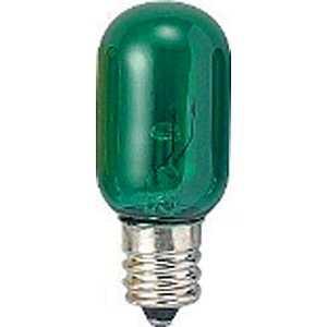 ヤザワ 電球 クリアグリーン[E12/緑色/1個/ナツメ球形] グリーン T201205CG