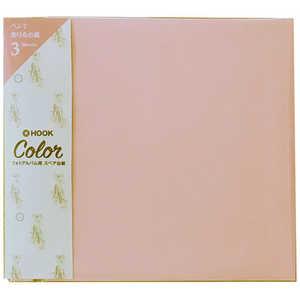 セキセイ HOOK COLOR(ホックカラー)フォトアルバム用スペア台紙 ピンク HK84