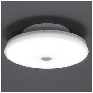 アイリスオーヤマ IRIS OHYAMA 小型シーリングライト 超薄型 1200lm 人感 昼白色 SCL12NMSTH