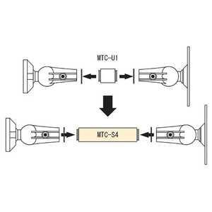 JBL MTC-U1専用延長シャフト MTC-S4BK スピーカーアクセサリ・パーツ