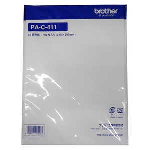 ブラザー brother モバイルプリンター用 感熱紙 [A4サイズ /100枚] PAC411
