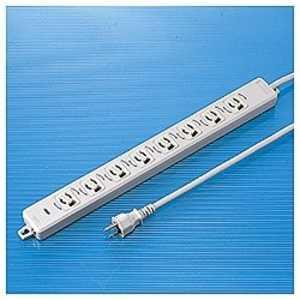 サンワサプライ 電源タップ「19インチマウント用」 (3P・8個口・2m) TAPMR8658TJ3