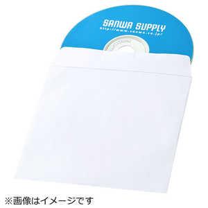 サンワサプライ DVD・CDペーパースリーブケース(窓なしタイプ・50枚入り) FCDPS50NWW