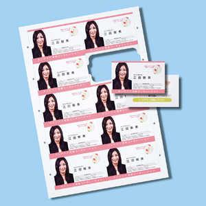 サンワサプライ 〔インクジェット〕 まわりがきれいな名刺カード 100枚 JPMCC05K