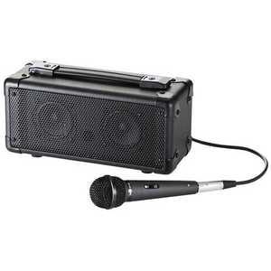 サンワサプライ マイク付き拡声器スピーカー(Bluetooth対応) MMSPAMPBT