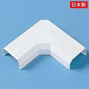 サンワサプライ ケーブルカバー(L型タイプ・幅26mm用) ホワイト CAKK26L