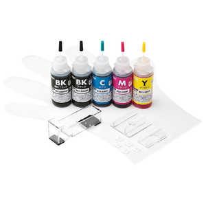 サンワサプライ 「詰替」「キヤノン:5色対応」つめかえインク INKC325S30S5