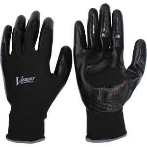 おたふく手袋 おたふく ニトリル背抜き手袋 ブラック LL ドットコム専用 A32BKLL
