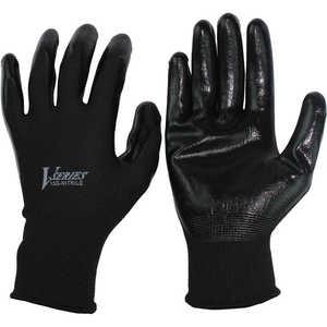 おたふく手袋 おたふく ニトリル背抜き手袋 ブラック L ドットコム専用 A32BKL