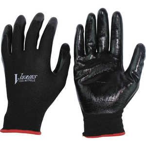 おたふく手袋 おたふく ニトリル背抜き手袋 ブラック M ドットコム専用 A32BKM