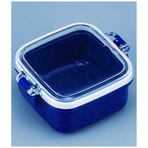 オーエスケー シルバーモードメンズランチミニケースデザート容器(ネイビー) 150ml PSS5