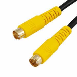 オーム電機 3m S端子 ビデオ接続コード VISC30SK