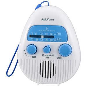 オーム電機 AM/FMシャワーラジオ RADS778Z