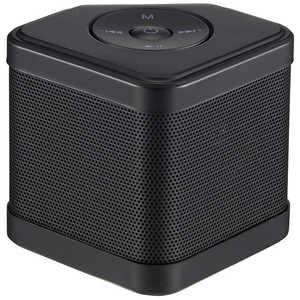 オーム電機 AudioComm ブルートゥーススピーカー ブラック ブラック ASPW110NK