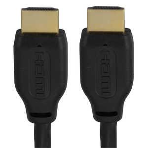 オーム電機 HDMIケーブル ブラック [1m /HDMI⇔HDMI] ブラック VISC10ELPK