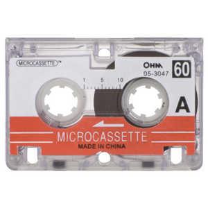 オーム電機 マイクロテープ TS3047
