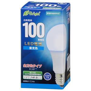 オーム電機 LED電球 E26 100形相当 昼光色 E26/D/100W LDA12DGAG27