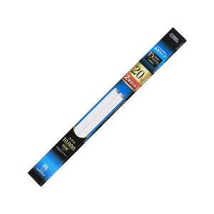 オーム電機 直管蛍光ランプ グロースタータ形 20形 昼光色 2本セット 2本セット FL20SSEXD2P