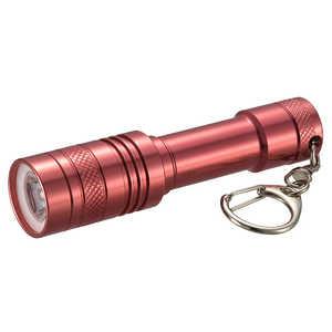 オーム電機 LEDミニライト 防水 レッド LHMY41R