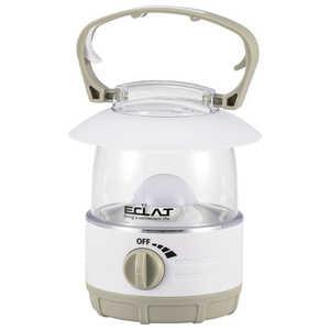 オーム電機 ECLAT無段階調光LEDランタン 70lm 電球色 LN07B7W