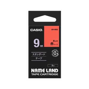 カシオ CASIO ネームランド テープカートリッジ(スタンダードテープ・9mm) XR9RD