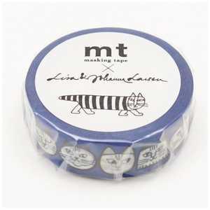 カモ井加工紙 「マスキングテープ」mt×Lisa Larson リサラーソン ねこのかお MTLISA10