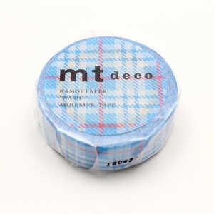 カモ井加工紙 「マスキングテープ」 ライトブルー MT01D421