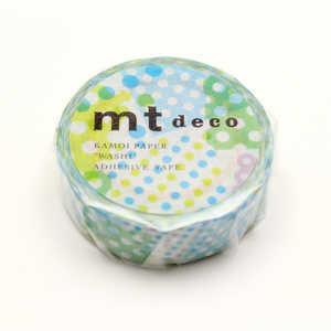 カモ井加工紙 「マスキングテープ」 ブルー MT01D423