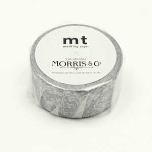カモ井加工紙 「マスキングテープ」mt ウィリアム・モリス Pure Bachelors Button Stone/Linen MTWILL17