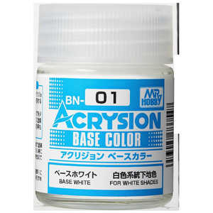 GSIクレオス アクリジョン ベースカラー BN01 ACベースホワイト