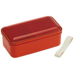 スケーター レトロフレンチ おかずのっけ弁当箱(OR) オレンジ SLLB6