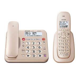 シャープ SHARP 電話機[親機コードレスタイプ/子機1台] ゴールド系 JDMK1CL