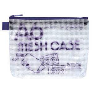 セキセイ アゾン メッシュケース(エコタイプ) A6タイプ ブルー ブルー AZ40E