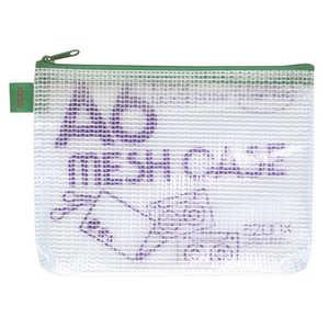セキセイ アゾン メッシュケース(エコタイプ) A6タイプ グリ-ン グリーン AZ40E