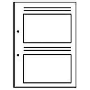 チクマ 新フォトス20S・プリントアルバムF-1用替台紙 (EL判・40枚収納) プリントアルバムスペア
