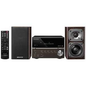 ケンウッド コンパクトHi-Fiシステム(ブラック)「ワイドFM対応」 ブラック XK330B