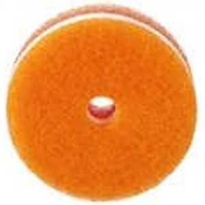 マーナ POCOキッチンスポンジ(吸盤なし・リフィル)「日本製」 オレンジ K095O