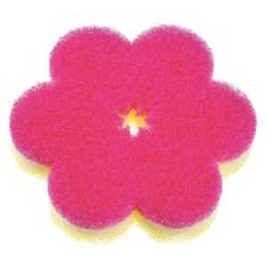 マーナ おはなスポンジ(ディープピンク) ディープピンク K364DP