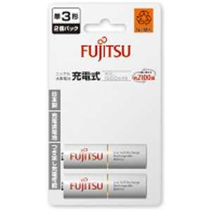 富士通 FUJITSU ニッケル水素充電池 1900 単3×2B HR3UTC2B
