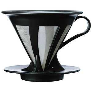 ハリオ カフェオールドリッパー02 ブラック CFOD02B