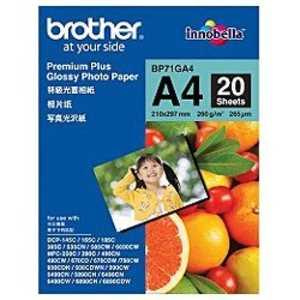 ブラザー brother 写真光沢紙 BP71GA4