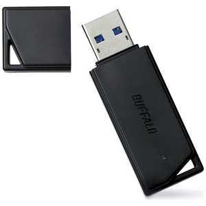BUFFALO USBメモリー[32GB/USB3.1/キャップ式](ブラック) ブラック RUF3K32GBBK