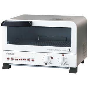 KOIZUMI オーブントースター KOS-1204-W オーブントースター