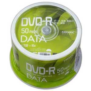 磁気研究所 HIDISC DVD-Rデータ用 4.7GB 1-16倍速 50枚スピンドルケース VVDDR47JP50