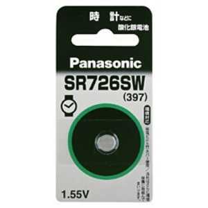 パナソニック Panasonic 酸化銀電池 「SR726SW」 x1SR726SW